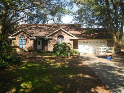 Clay County Single Family Home For Sale: 6418 Baker Rd