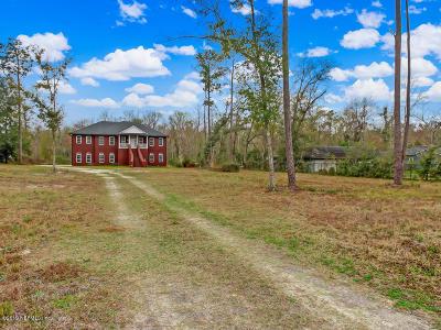 32223 Single Family Home For Sale: 4030 Julington Creek Rd