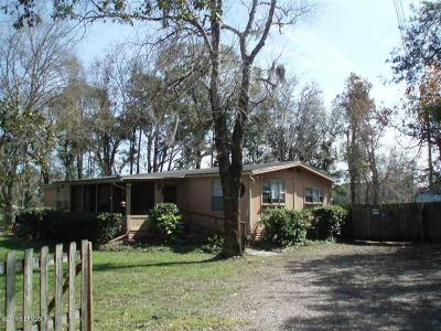 St. Johns County Mobile/Manufactured For Sale: 1405 Kings Estate Rd