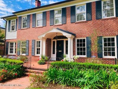 Jacksonville, Ponte Vedra Single Family Home For Sale: 1872 Ribault Ct