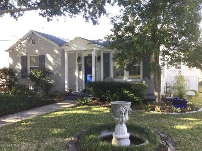 Single Family Home For Sale: 1822 San Marco Pl