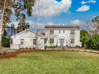 Jacksonville, Ponte Vedra Single Family Home For Sale: 1729 Woodmere Dr