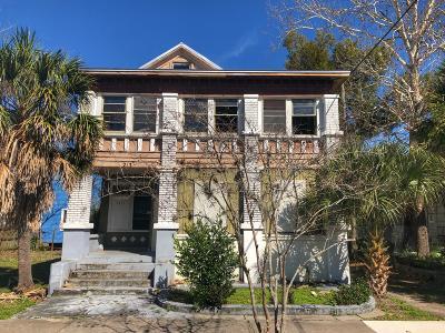 Jacksonville, Ponte Vedra Single Family Home For Sale: 215 E 3rd St