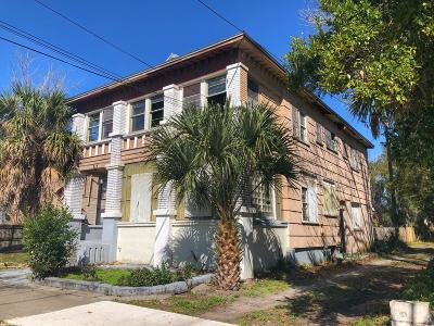 Jacksonville, Ponte Vedra Multi Family Home For Sale: 215 E 3rd St