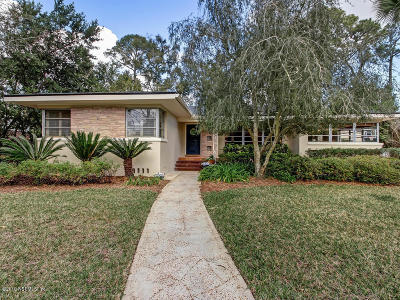 Jacksonville Single Family Home For Sale: 945 Mapleton Ter