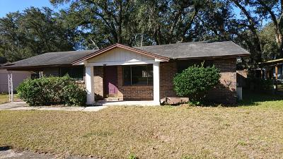 Jacksonville Single Family Home For Sale: 4224 Oriely Dr