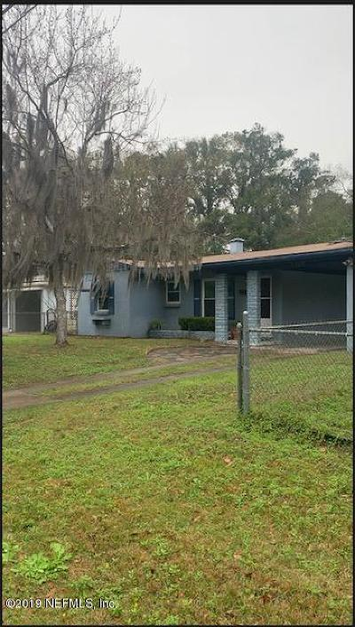 Jacksonville Single Family Home For Sale: 5329 Marlene Ave