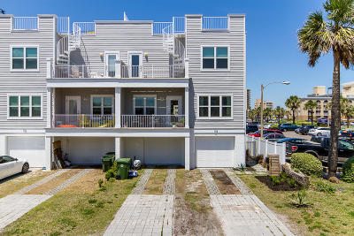 Jacksonville Beach Townhouse For Sale: 107 14th Ave N
