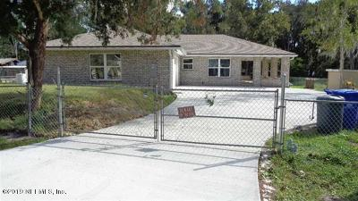 St Augustine Single Family Home For Sale: 7837 Rusty Anchor Rd