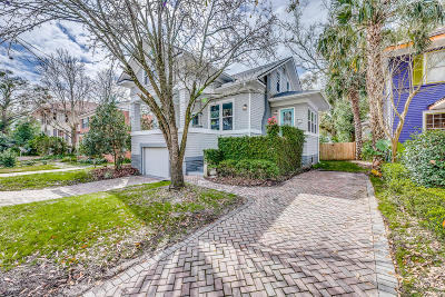 Jacksonville Single Family Home For Sale: 1834 Cherry St