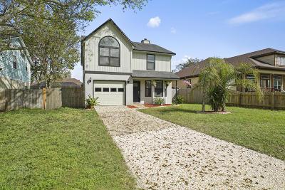 Jacksonville Beach Single Family Home For Sale: 1107 11th St N