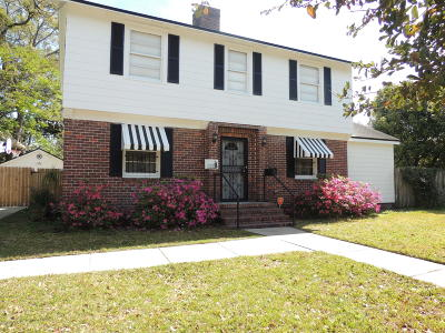 Jacksonville Single Family Home For Sale: 2029 Traymore Rd