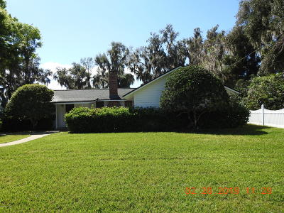 32092 Single Family Home For Sale: 8221 Hall Ln