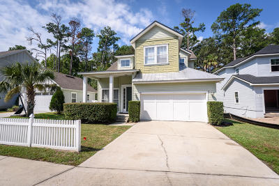 Atlantic Beach Single Family Home For Sale: 880 Paradise Ln