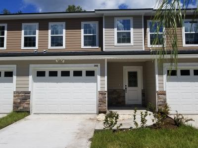 Orange Park Townhouse For Sale: 382 Old Jennings Rd
