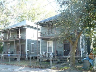 Jacksonville Multi Family Home For Sale: 1708 W 11th St