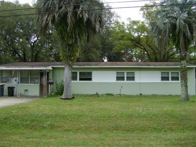 Jacksonville FL Single Family Home For Sale: $169,900