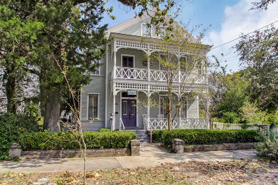 Fernandina Beach Single Family Home For Sale: 14 S 7th St
