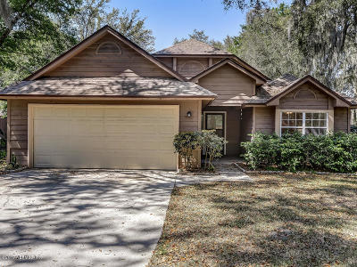 Fernandina Beach Single Family Home For Sale: 2129 Natures Gate Ct N