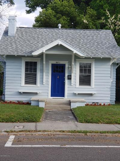 Single Family Home For Sale: 2571 College St