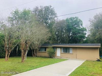 Jacksonville Single Family Home For Sale: 8728 Trilby Ave