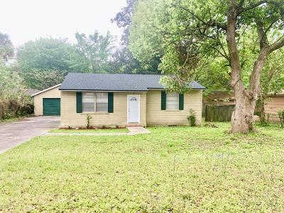 Jacksonville FL Single Family Home For Sale: $125,000