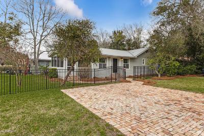 Fernandina Beach Single Family Home For Sale: 515 Fir St