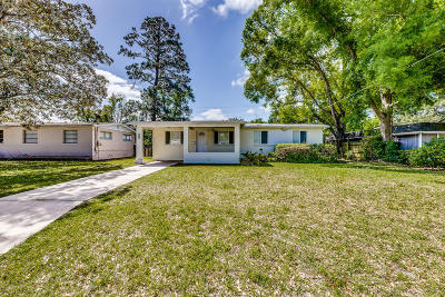 Jacksonville Single Family Home For Sale: 7138 Hielo Dr