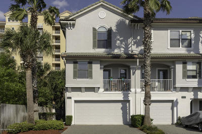 Jacksonville Beach Townhouse For Sale: 905 2nd St N #G