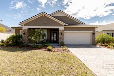 St Augustine Single Family Home For Sale: 175 Vivian James Dr