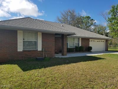 Jacksonville Single Family Home For Sale: 7046 Jammes Rd