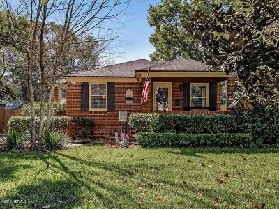 Jacksonville Single Family Home For Sale: 1412 River Oaks Rd