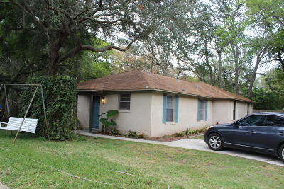 Atlantic Beach Single Family Home For Sale: 1069 Mimosa Cove Ct W