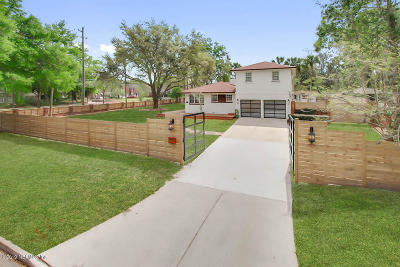 San Marco Single Family Home For Sale: 1136 Marco Pl
