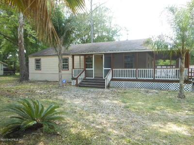 Starke Single Family Home For Sale: 8068 Fl-100