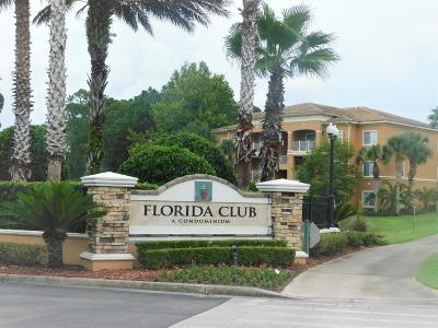 St. Johns County Condo For Sale: 615 Fairway Dr #301
