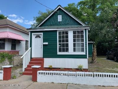 Single Family Home For Sale: 1565 Florida Ave