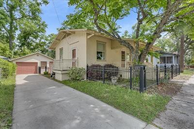 San Marco Single Family Home For Sale: 1827 Landon Ave