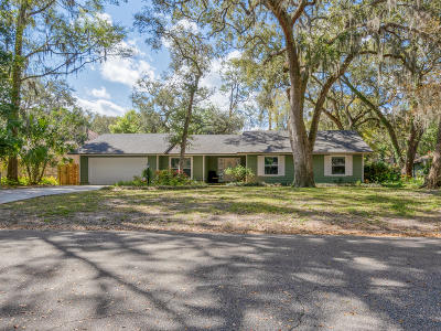 Fernandina Beach Single Family Home For Sale: 5336 Florence Point Dr