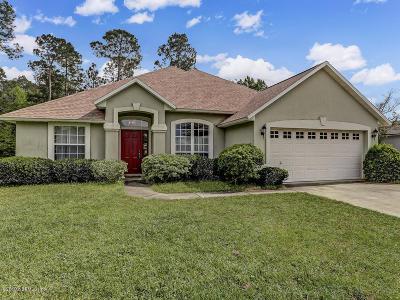 Fernandina Beach Single Family Home For Sale: 96044 Waterway Ct
