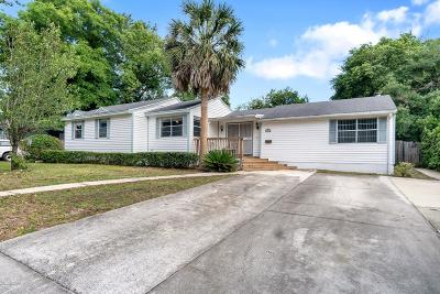 Jacksonville Single Family Home For Sale: 9751 Leahy Rd