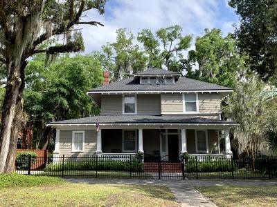 Jacksonville Single Family Home For Sale: 2800 Riverside Ave