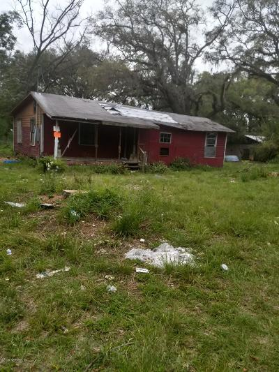 Jacksonville Single Family Home For Sale: 1614 Derito Dr