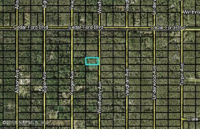 St. Johns County Residential Lots & Land For Sale: 10445 Weatherby Ave