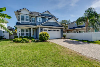 Jacksonville Beach Single Family Home For Sale: 460 33rd Ave S