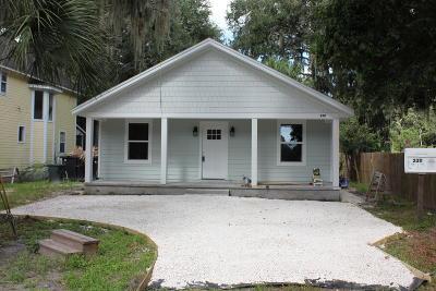 Fernandina Beach Single Family Home For Sale: 2311 Amelia Rd