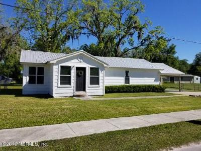 Macclenny Single Family Home For Sale: 305 E McIver Ave