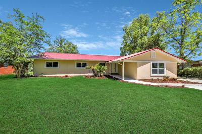Single Family Home For Sale: 2515 Ribault Scenic Dr