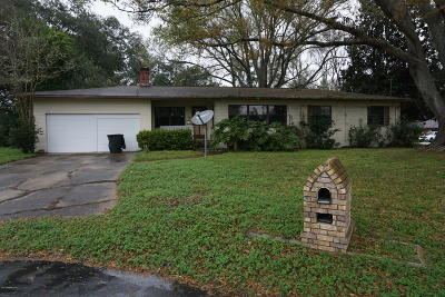 Jacksonville Single Family Home For Sale: 7940 Lake Park Ct