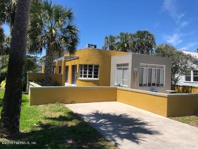 Atlantic Beach Single Family Home For Sale: 826 Ocean Blvd